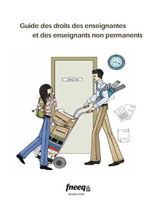 Guide des droits des enseignantes et enseignants non permanents